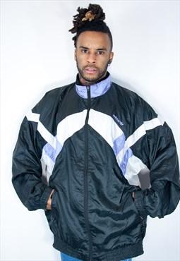 adidas vintage jacket black
