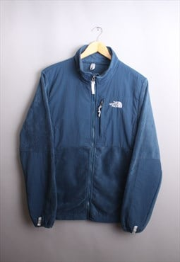 Women's Vintage The North Face Blue Denali Fleece Jacket