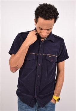 Vintage Lee Shirt Navy Blue