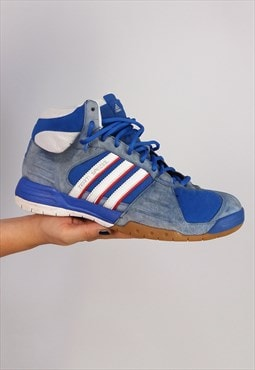 Vintage Y2K ADIDAS Team Spezial Blue Basketball Sneakers