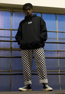 Checked Checkered Chef Trouser