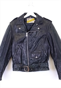 Vintage Schott x Harley Davidson Perfecto Leather Jacket