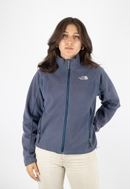 The North Face Windwall Classic Fleece in Blue.