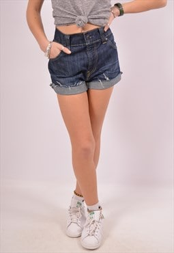 Vintage Levi's 511 Denim Shorts Blue