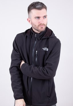 Vintage Black Soft Shell Jacket The North Face