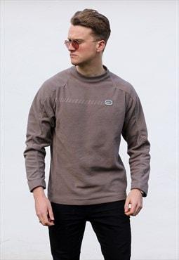 Nike USA 90s Olive Fleece Minimalist Sweatshirt