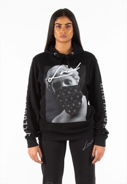 Loud Black Sculpture Hoodie