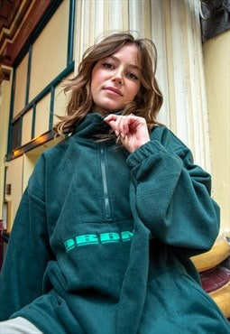 Forest Green Fleece With DBDNS Embroidered Design