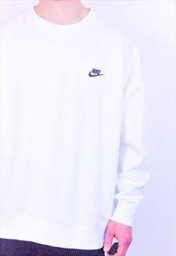 Vintage Nike Sweatshirt in White