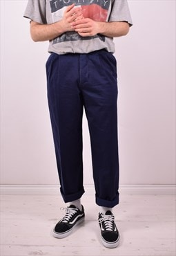 Avirex Mens Vintage Trousers W31 L30 Blue 90s