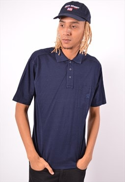 Vintage Paul & Shark Polo Shirt Navy Blue