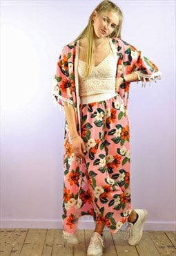 Crop Pants and Kimono Co-ordinates