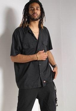 Vintage Dickies Workwear Shirt Black