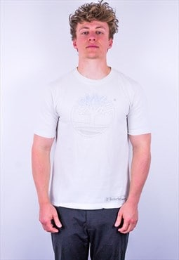Vintage Timberland T-Shirt in White