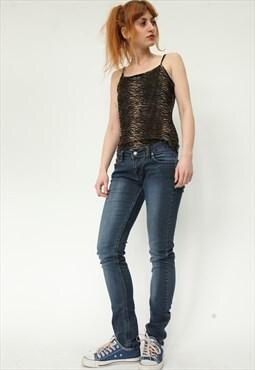 Vintage Armani Y2K Low Rise Skinny Jeans