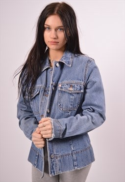Vintage Guess Denim Jacket Blue