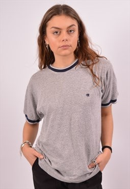 Vintage Champion T-Shirt Top Grey