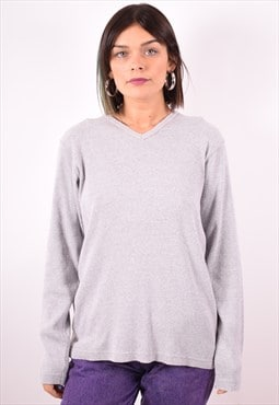 Levi's Womens Vintage Top Long Sleeve XL Grey 90s