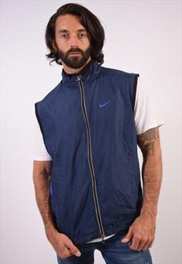 Vintage Nike Gilet Blue