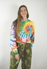 Vintage Long Sleeve Tie Dye T-shirt