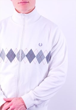 Vintage Fred Perry Jacket in White