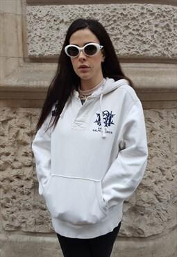 Vintage hoodie '90s by RALPH LAUREN Cod.3-47
