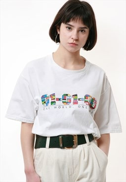 90s LEE SPORT Graphic Cotton T-shirt 17292