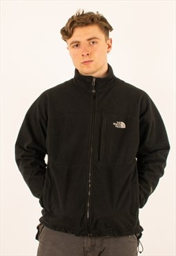 Vintage Black North Face Full Zip Fleece