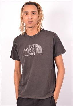 Vintage The North Face T-Shirt Top Black
