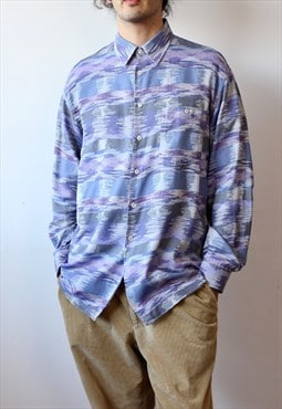 Men's Missoni Frequency Purple Shirt