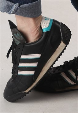 Adidas All Rounder trainers 1980's 80's RARE UK 10.5 (A82R)