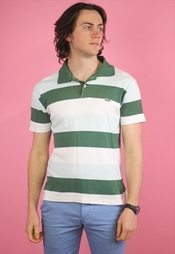 Green Lacoste Vintage Polo T shirt