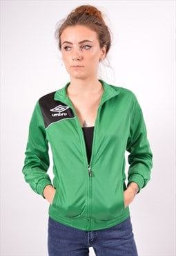 Vintage Umbro Tracksuit Top Jacket Green