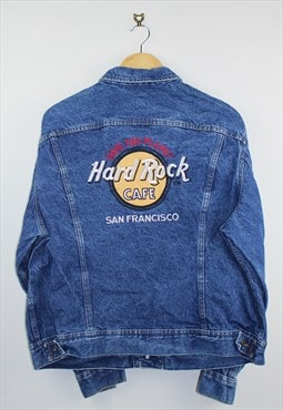 Vintage 90s Lee Denim Jacket Blue