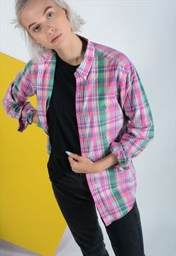Ralph Lauren Polo Checked Shirt in pink.