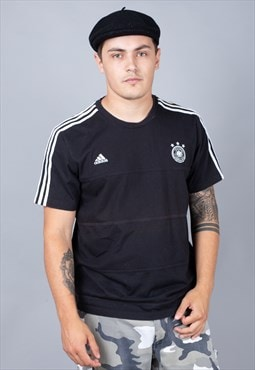 Germany Black Football Tee