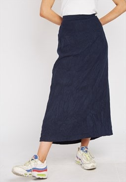 Vintage Blue Christopher & Banks Skirt