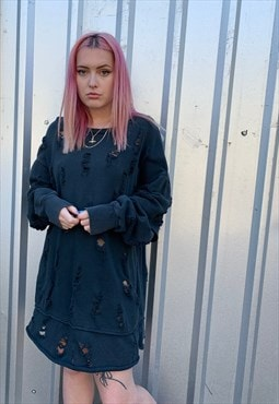 Vintage Diesel Distressed Dress