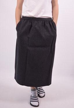 Pendleton Womens Vintage Skirt W30 L27 Grey 90s