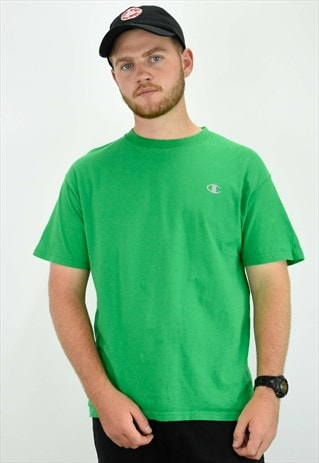 VINTAGE GREEN CHAMPION T SHIRT