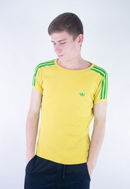 Vintage 90's Adidas Embroidery Logo T-Shirt