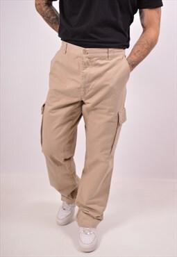 Vintage North Sails Cargo Trousers Khaki