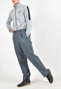 Vintage suit trousers in grey
