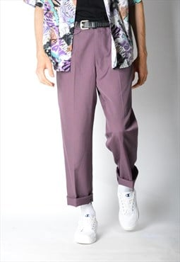 Vintage 80s Purple Pants