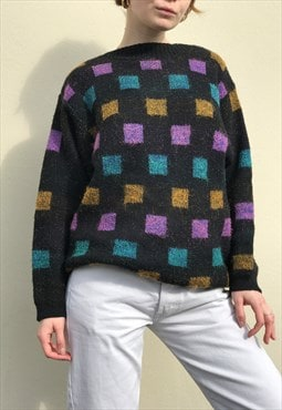 80s Made in Italy Wool Blend Sweater