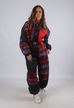 Vintage Full Ski Suit Snow Sports UK 12 M   (K2B)