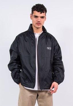 Vintage Adidas Black Waterproof Jacket