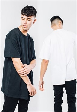 RQST oversized tee multipack - black and white