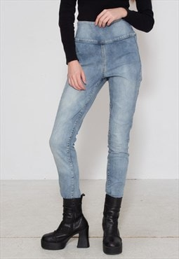 Vintage Blue PIECES Denim Jeans