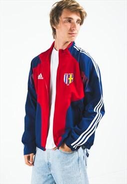 Vintage 80s Adidas Sport Jacket / S4876